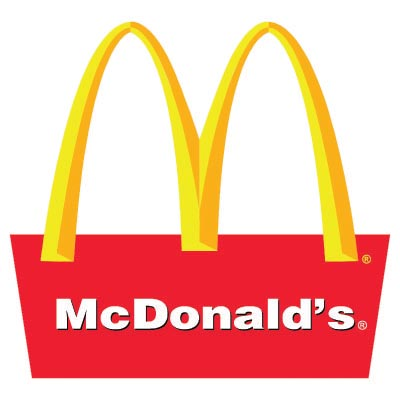 Custom mcdonalds logo iron on transfers (Decal Sticker) No.100425