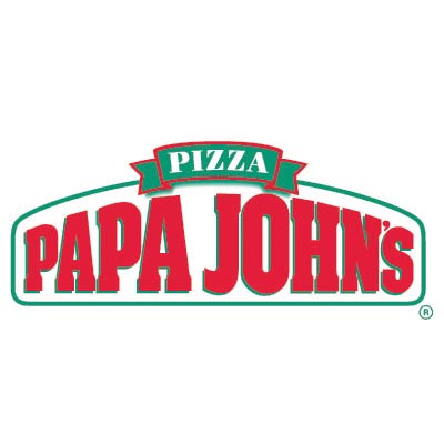 Custom papa johns logo iron on transfers (Decal Sticker) No.100430