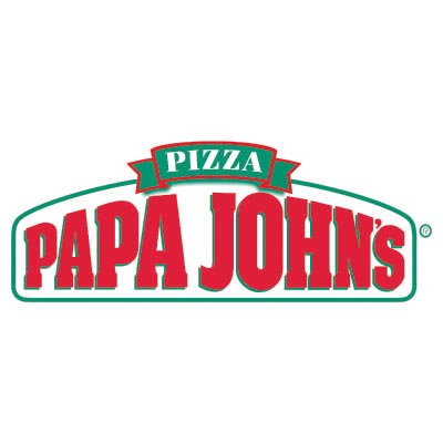 Custom papa johns logo iron on transfers (Decal Sticker) No.100431