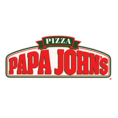 Custom papa johns logo iron on transfers (Decal Sticker) No.100432