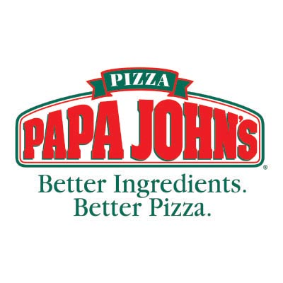 Custom papa johns logo iron on transfers (Decal Sticker) No.100434