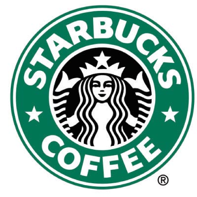 Custom starbucks logo iron on transfers (Decal Sticker) No.100447