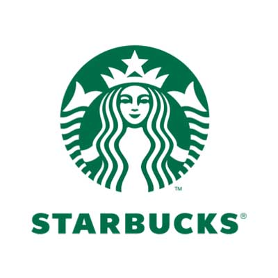 Custom starbucks logo iron on transfers decal sticker no 100826