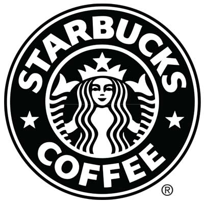 Custom starbucks logo iron on transfers (Decal Sticker) No.100827
