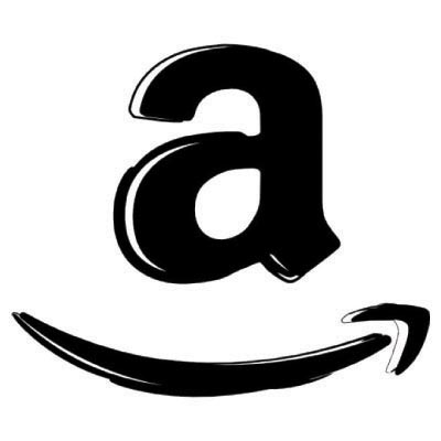 Custom amazon logo iron on transfers decal sticker no 100488