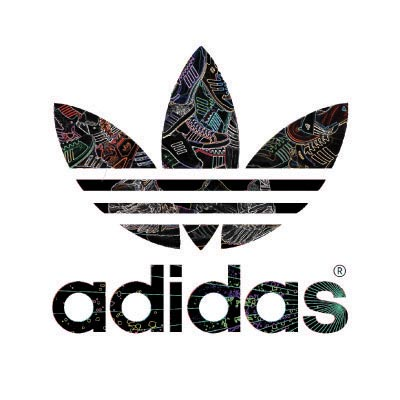 Custom adidas logo iron on transfers (Decal Sticker) No.100543
