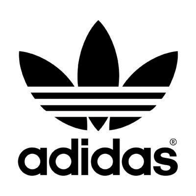 Custom adidas logo iron on transfers decal sticker no 100544