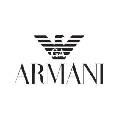 Custom armani logo iron on transfers (Decal Sticker) No.100546