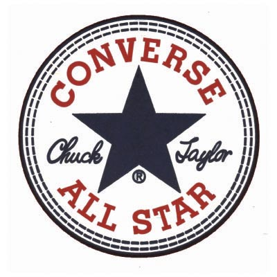 Custom converse logo iron on transfers (Decal Sticker) No.100559