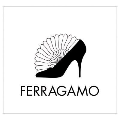 Custom ferragamo logo iron on transfers (Decal Sticker) No.100566