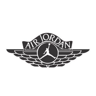 Custom jordan logo iron on transfers (Decal Sticker) No.100577