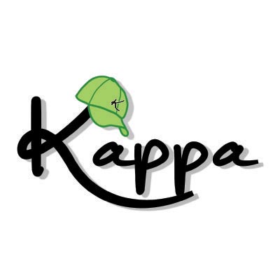 Custom kappa logo iron on transfers (Decal Sticker) No.100590