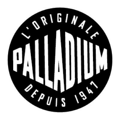 Custom palladium logo iron on transfers (Decal Sticker) No.100616