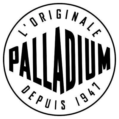 Custom palladium logo iron on transfers (Decal Sticker) No.100617