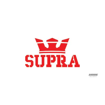 Custom supra logo iron on transfers (Decal Sticker) No.100639