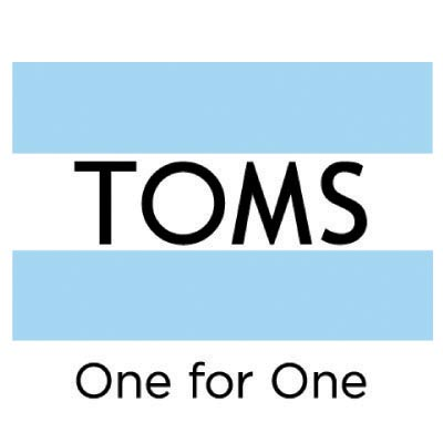 Custom toms logo iron on transfers (Decal Sticker) No.100649