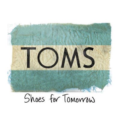 Custom toms logo iron on transfers (Decal Sticker) No.100652