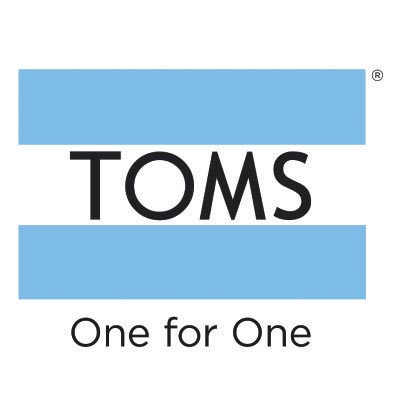 Custom toms logo iron on transfers (Decal Sticker) No.100653