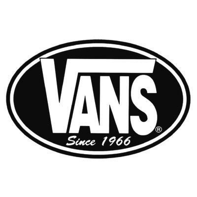 Custom vans logo iron on transfers (Decal Sticker) No.100654