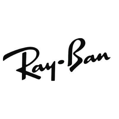 Custom rayban logo iron on transfers (Decal Sticker) No.100668