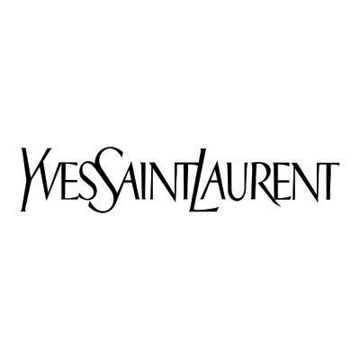 Custom yves saint laurent logo iron on transfers (Decal Sticker) No.100675